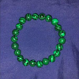 Other - Malachite Stone Mala Beads Bracelet